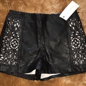 New black shorts